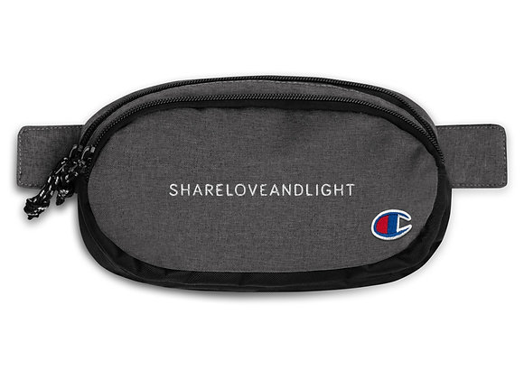 SHARELOVEANDLIGHT Champion fanny pack