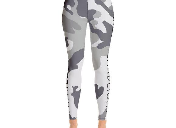 SHARELOVEANDLIGHT Grey Camo Leggings