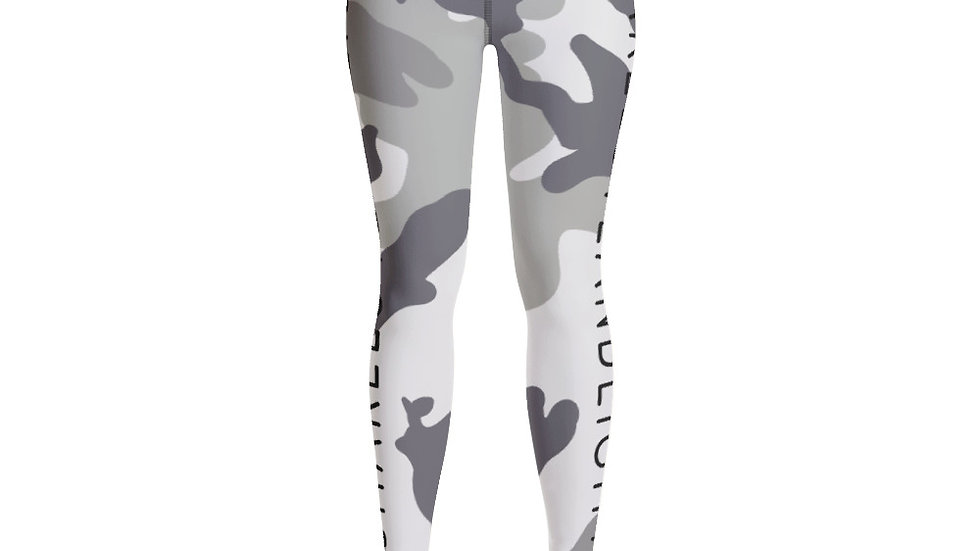SHARELOVEANDLIGHT Grey Camo Leggings