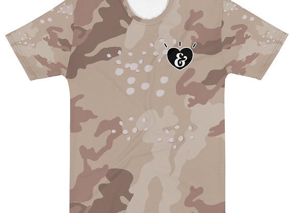 SHARELOVEANDLIGHT Desert Camo T-shirt