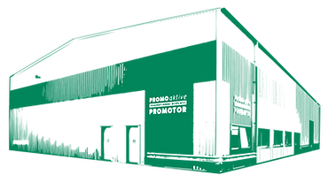 Promotor UK factory for promotional counters and displays