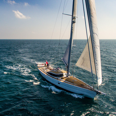 Kraken 66 ft Luxury Sailing Yacht in Action