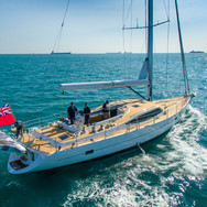 Kraken 66 ft Luxury Sailing Yacht across the Ocean
