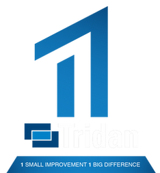 "Tridan Engineering logo ""1 small improvement, 1 big difference"""