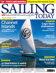 Sailing Today April 2018 Edition front cover