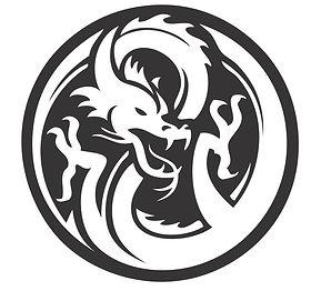 Kraken Yacht's White Dragon Logo