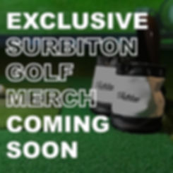 Exclusive Surbiton Golf Merch Coming Soon