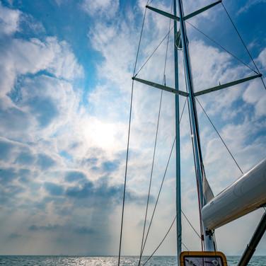Kraken 66 ft Sailing Yacht Mast