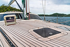 Flush Hatch on the deck of the Yacht
