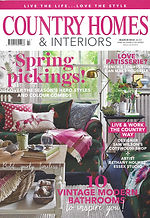 Country Homes & Interiors Front cover
