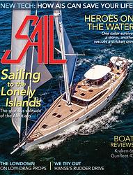 Sail Magazine April 2018 Edition Front Cover