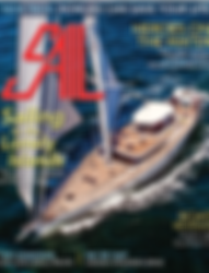 Sail Magazine April 2018 Edition Front Cover