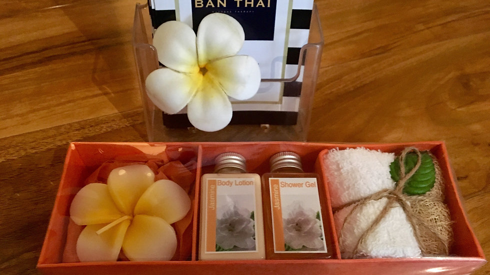 Body lotion gift set