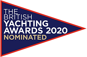 The British Yachting awards 2020 logo no