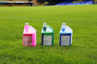 3 Shades of Bleach on the football pitch
