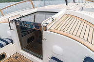 Companionway wth entrance to the lower deck