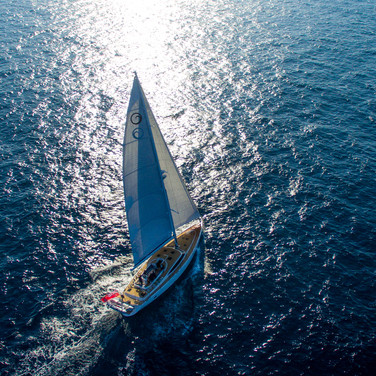 Kraken 66 ft Luxury Sailing Yacht across the Blue water
