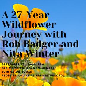 2021 S/F Zoom: A 27 Year Wildflower Journey