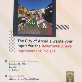 DOWNTOWN ALLEYS IMPROVEMENT PROJECT OUTREACH BEGINS