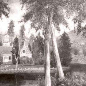 Baldwin Lake @ Los Angeles County Arboretum and Botanic Garden