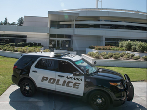 Arcadia Police Department Weekly Activity Report-September 26th through Saturday, October 2nd