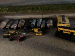 Catalytic Converter theft arrested