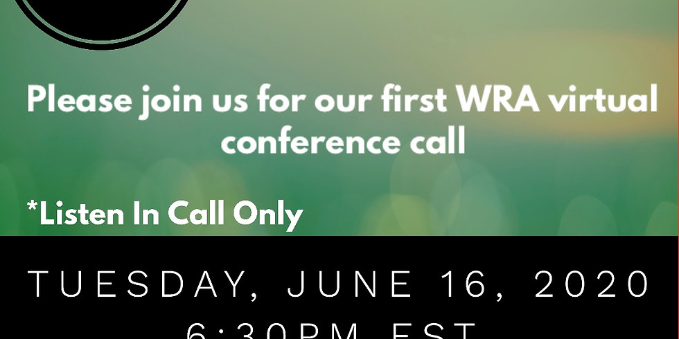 WRA Virtual Conference Call
