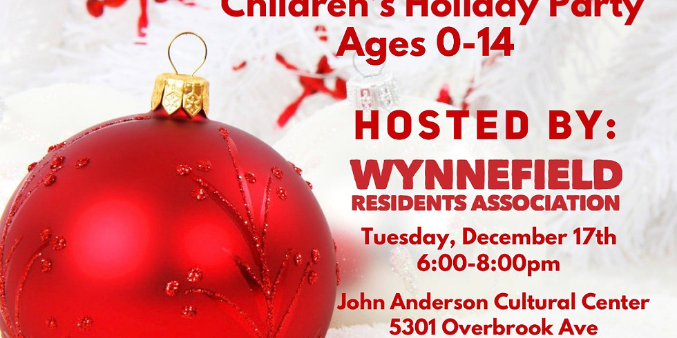 WRA Annual Children Holiday Party