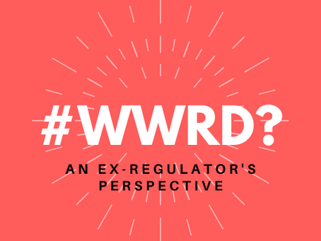 #WWRD; What Would the Regulator Do launches today looking at the 'annoying' CBI and SEAR