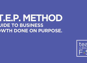 S.T.E.P. Method firms use to grow on purpose.