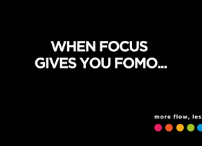 More focus, less FOMO for deliberate growth.