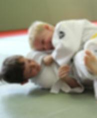 Children doing Judo in Surrey