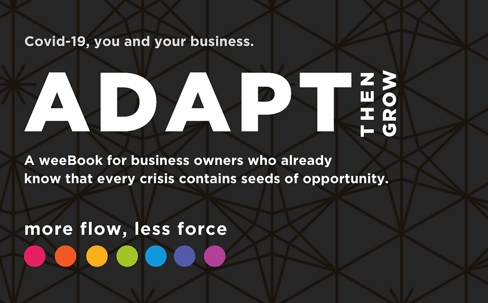 Adapt, Then Grow - wee Book