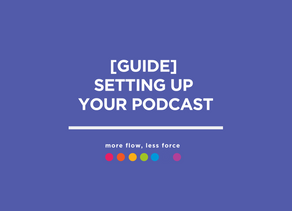 [GUIDE] Setting up your Podcast