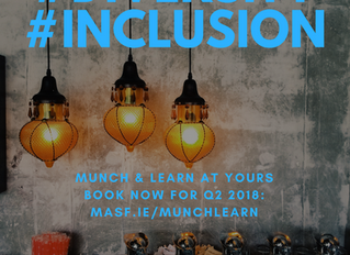 BOOK NOW FOR Q2: 45-Min Inclusion & Diversity themed munch & learn, at yours.
