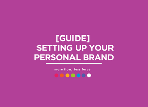 [Guide] Setting up your Personal Brand