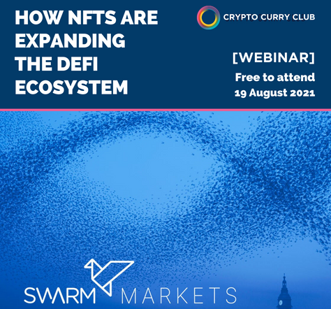 [UPCOMING WEBINAR] How NFTs are expanding the DeFi ecosystem