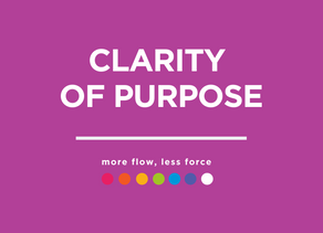Clarity of Purpose: Resources, Tools and Vehicles to get you clear.