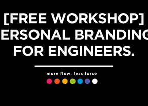 [FREE WORKSHOP] 9 July: Personal Branding & Influence for the Science community