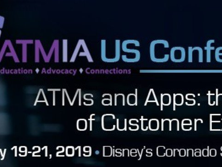 [EVENT] ATMs and Apps: New World of CX. Feb 19-21, 2019, Orlando // Machines, Apps and Results @ Boo