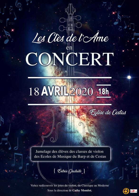 Concert de violon : Jumelage Cestas - Le Barp