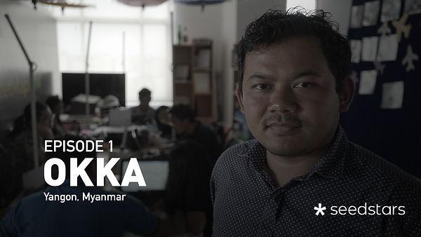 Okka's Story at Seedstars Summit Yangon 2019