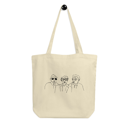 OLD JEWISH MEN TOTE BAG