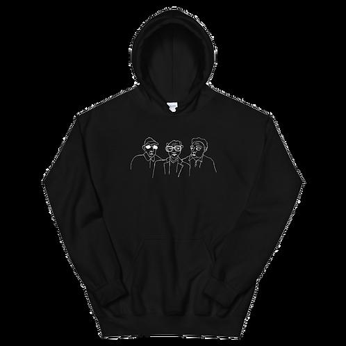 three OJMs hoodie
