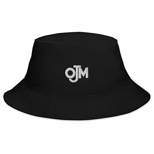 ojm embroidered black bucket