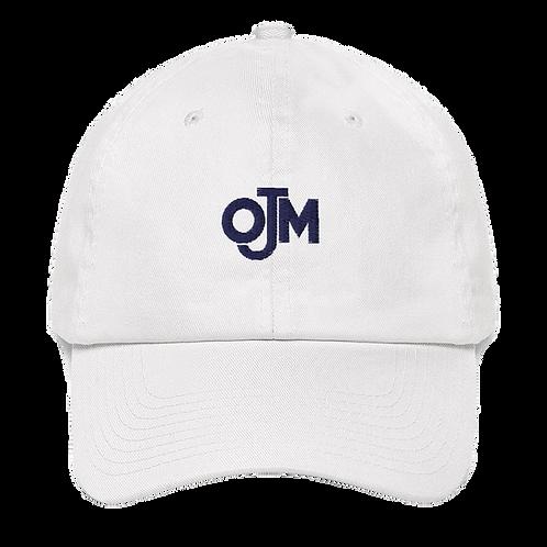 OJM Ball Cap hat white