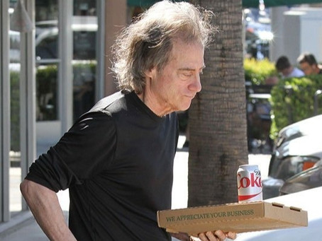 Richard Lewis used to be so happy. What happened?