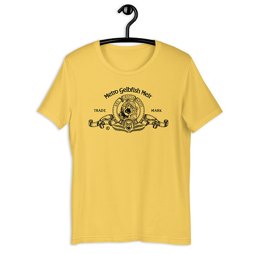 yellow mgm shirt