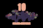 10 octobre - artisan fleuriste - dix octobre - Annecy - Haute-Savoie - Logo - Mariage - Evennements