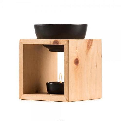 Scuol Arve Schweizer Holz  Keramikschale schwarz
